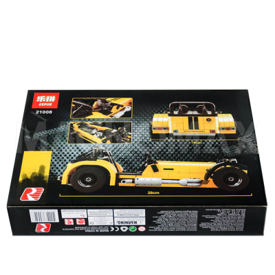 Конструктор Lepin 21008 / Idea Caterham Seven 620R (аналог LEGO 21307, 771 дет.) - 3